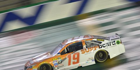Carl Edwards had a great chance to win Saturday night's NASCAR Sprint Cup race at Kentucky, but was unable to catch winner Brad Keselowski.
