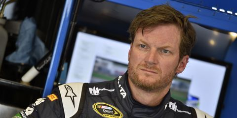 """Dale Earnhardt Jr. says he's going to """"take it slow"""" regarding his recovery from the concussion-like symptoms that kept him sidelined in New Hampshire."""