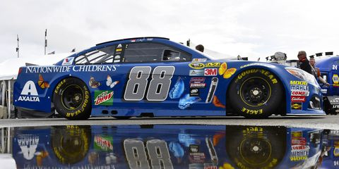 Dale Earnhardt Jr. appears a bit puzzled about NASCAR's choices in picking start times for 2017.