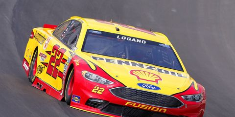 Team Penske appears to have an advantage with the low-downforce package NASCAR uses in Kentucky.