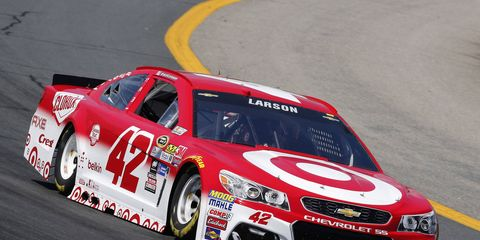 After Sunday's race in New Hampshire, Kyle Larson says his luck has run out.