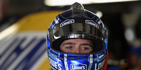 Jimmie Johnson won his first pole of the season Friday in New Hampshire.