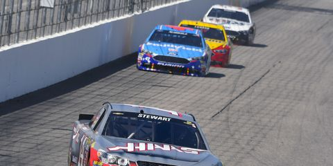 Tony Stewart is hoping to keep his hot streak alive in Indianapolis this weekend.