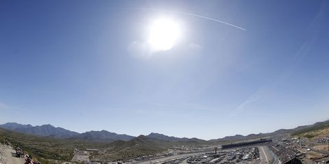 Phoenix International Raceway is the site of the penultimate event of the NASCAR Sprint Cup season.