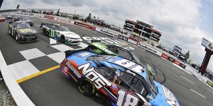 Kyle Busch won the Xfinity Series race at Pocono on Saturday and reignited the debate about Cup Series 'moonlighters.'