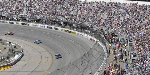 Carl Edwards' last-lap, bump-and-pass victory at Richmond was a real treat for NASCAR fans.