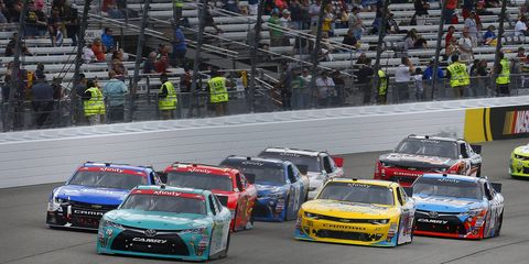 NASCAR released the 2017 Xfinity race schedule on Thursday.