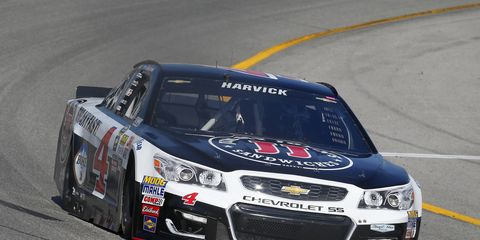 There will be two new faces behind the wall at Kevin Harvick's pit box at Richmond.