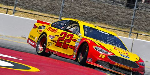 Joey Logano says that NASCAR drivers are getting better and better at road courses.
