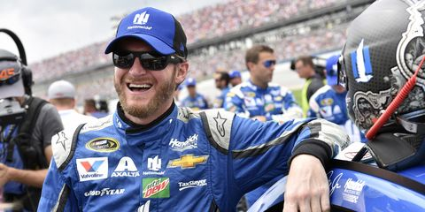 """Dale Earnhardt Jr. helped produce """"NASCAR, The Rise of American Speed,"""" premiering Sunday on CMT."""