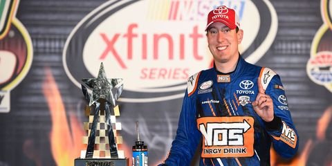 Not everyone is celebrating the fact that the top driver in the NASCAR Sprint Cup Series, Kyle Busch, continues to pile up the wins and beat lesser competition in the NASCAR Xfinity Series.