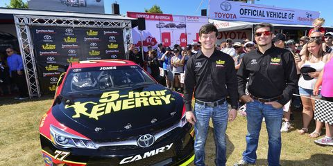 Erik Jones signed a one-year deal to compete for Furniture Row Racing in 2017. But where will he be in 2018?