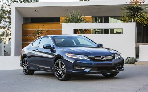 We test the 2016 Honda Accord coupe and sedan -- a mildly refreshed take on a midsize favorite.