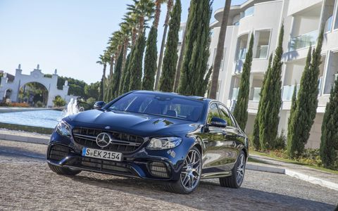 The 2018 E63 and E63 S go on sale this summer.