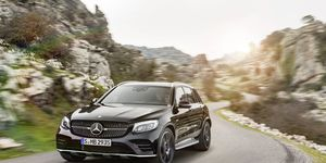 A photo gallery for the 2017 Mercedes-AMG GLC43 SUV that will debut at the New York International Auto Show.