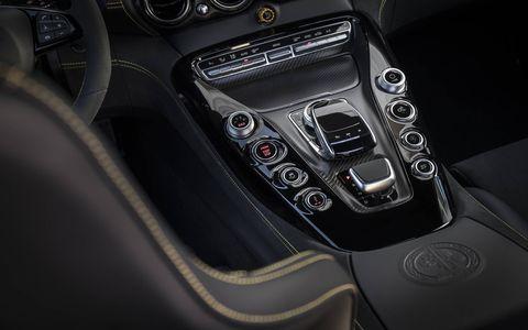 Inside the Mercedes AMG GT R supercar