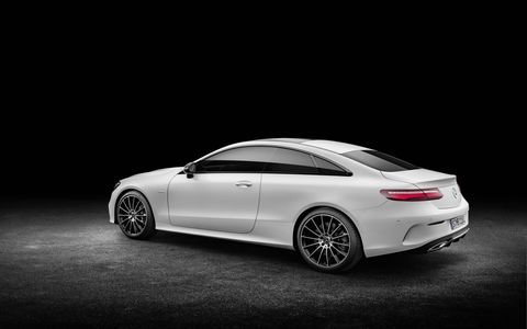 The 2018 Mercedes-Benz E-Class Coupe is a tech-laden luxury coupe that can get up and go when you want it to.