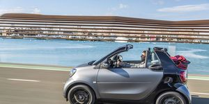 The 2017 Smart ForTwo Cabrio should be the lowest-price convertible available.