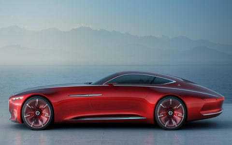 Check out the 18.5-foot Vision Mercedes-Maybach 6.