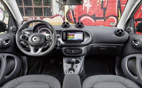 The 2017 Smart Fortwo electric drive coupe will make its formal debut at the 2016 Paris motor show.