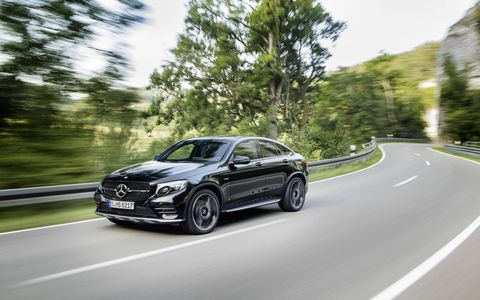 The new Mercedes-AMG GLC43 Coupe