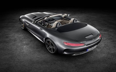 Mercedes-AMG unveils its open-air GT variants ahead of the Paris motor show.