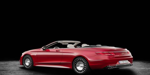 Mercedes unveiled the Maybach S650 Cabriolet luxury convertible today at the 2016 LA Auto Show