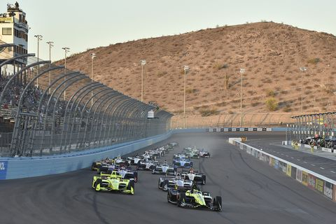 Sights from the IndyCar Series Grand Prix of Phoenix Saturday, April 7, 2018.