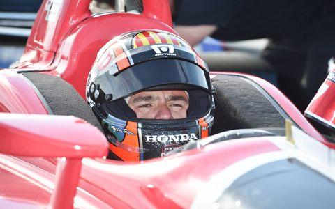 2018 Indycar Prototype Drivers Juan Pablo Montoya and Oriol Servia