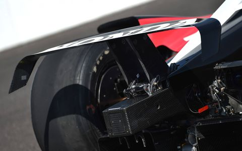 IndyCar released first images of its 2018 car on Monday at the Indianapolis Motor Speedway. The universal aero kits produced by Dallara will be powered by Honda and Chevrolet.