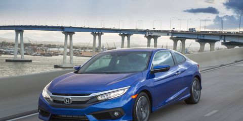 With its turbocharged 1.5-liter I4 and CVT, the Honda Civic coupe is no slouch, but is it as good as the sedan?