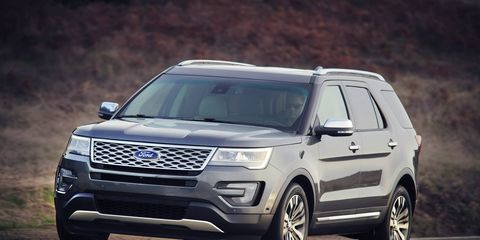 2016 Ford Explorer Platinum first drive in northern New Mexico.