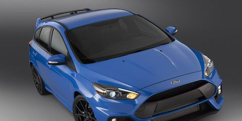 The Ford Focus RS will arrive on our shores in the spring of 2016.