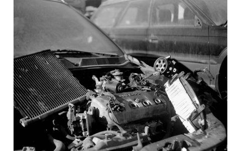 1990s Honda engine technology, 110-year-old camera technology.