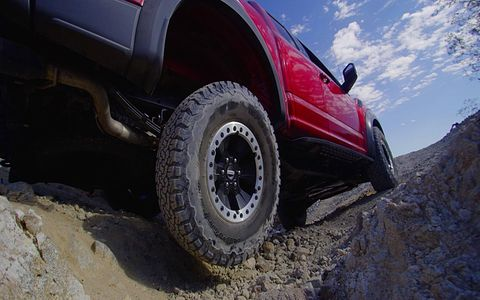 The 2017 Raptor will get Ford's new ten-speed automatic transmission.