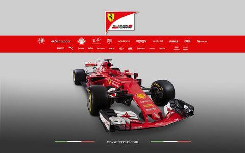 Ferrari F1 team unveiled its 2017 Formula 1 car on Friday.