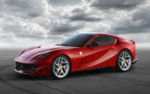 The new mid-front-mounted 6.5-liter develops 788 hp and 530 lb-ft of torque.