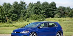 The 2018 Volkswagen Golf R gets a 2.0-liter turbocharged four making 292 hp and 280 lb-ft.