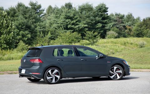 SE and Autobahn trims on the 2018 Volkswagen Golf GTI get the brakes from the Golf R and an electronically controlled, torque-sensing, limited-slip VAQ differential.