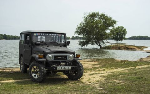 Despite the spotty infrastructure, off-roading culture didn't exist in Vietnam -- until the four Phan brothers and their fleet of Toyota Land Cruisers showed people how fun it can be to get stuck.