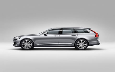 The 2017 Volvo V90 will be available in the United States.