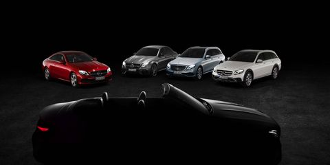 The entire 2018 E-Class lineup will be on display at the Geneva motor show.