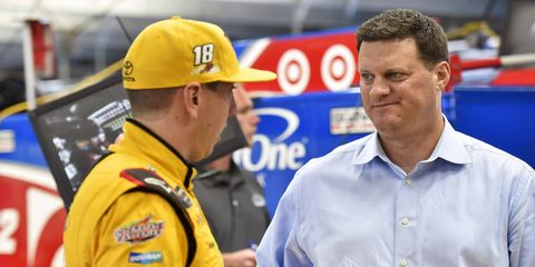 Leading NASCAR official Steve O'Donnell says the future of race weekends is still up in the air.
