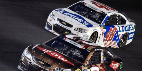 Austin Dillon (3) and Jimmie Johnson (48) are primed for a postseason battle in this year's Monster Energy NASCAR Cup Series playoffs.