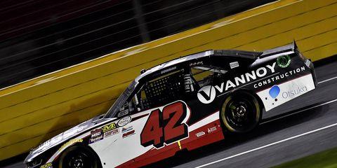 Alex Bowman had not raced in NASCAR since last season.