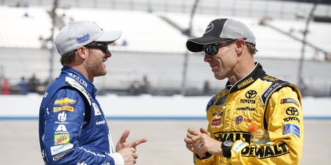 Dale Earnhardt Jr. says rookie drivers are making considerably less than the veterans they are replacing.
