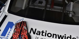 Star NASCAR drivers will wear Dale Earnhardt Jr.'s skeleton gloves in support of a pediatric care charity.