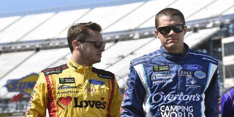 Landon Cassill will not race alongside David Ragan at Front Row Motorsports next season.