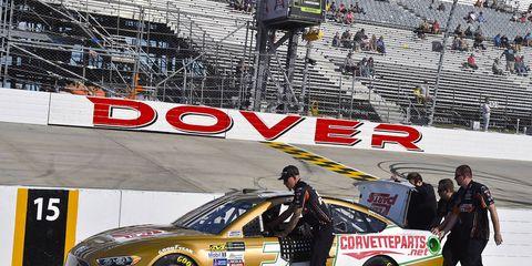 Matt DiBenedetto suffered an ignition problem Friday.