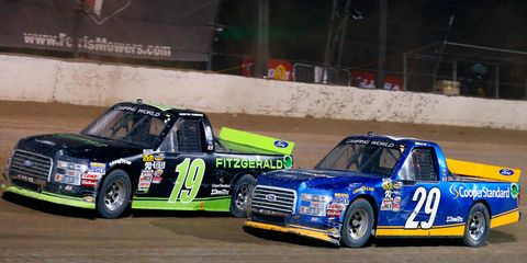 Austin Cindric and Chase Briscoe drive for Brad Keselowski Racing in the NASCAR Camping World Truck Series.